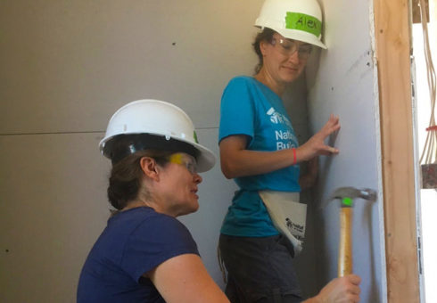 Women Build: Drywall Workshop