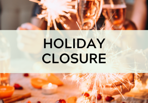 Holiday Closure: New Year's Day