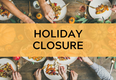 Holiday Closure: Thanksgiving