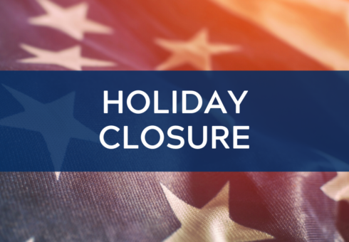Holiday Closure: Presidents' Day