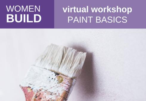 Women Build: Paint Basics 1