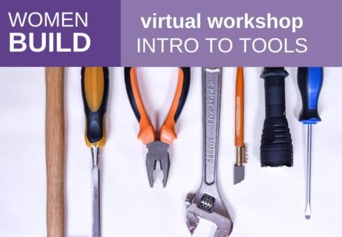 Women Build: Intro to Tools 1