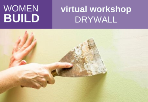 Women Build: Intro to Drywall