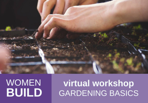Women Build: Gardening Basics 1