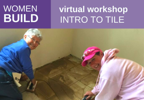 Women Build: Intro to Tile