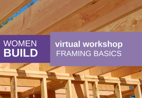 Women Build: Framing Basics