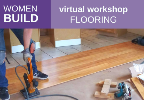 Women Build: Flooring