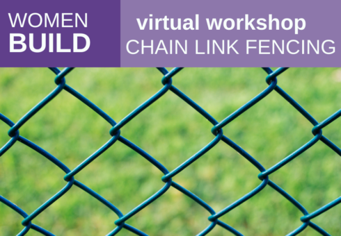 Women Build: Chain Link Fence