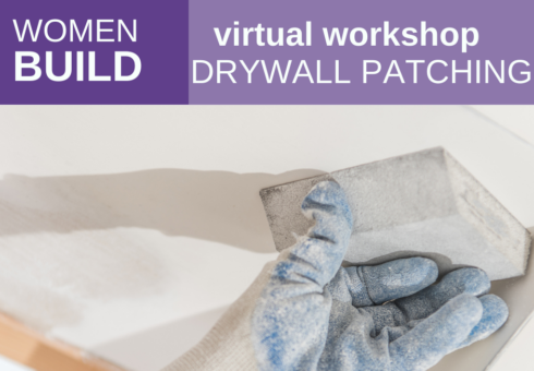 Women Build: Drywall Repair