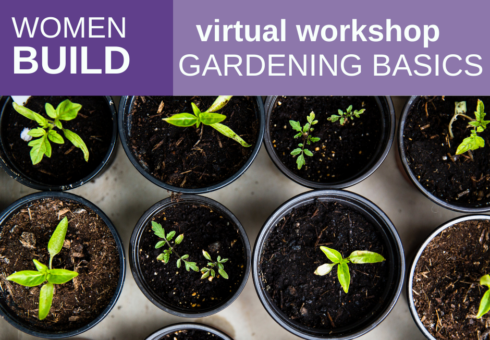 Women Build: Gardening Basics 2