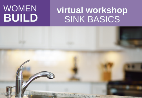 Women Build: Sink Basics
