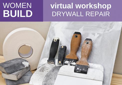 Women Build: Drywall