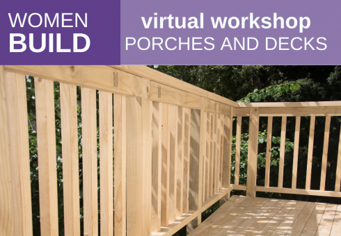 Women Build: Porches & Decks